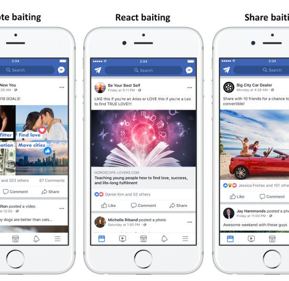 Facebook algoritmo hacer like compartir 2