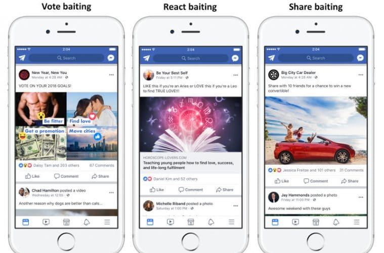 Facebook algoritmo hacer like compartir 2