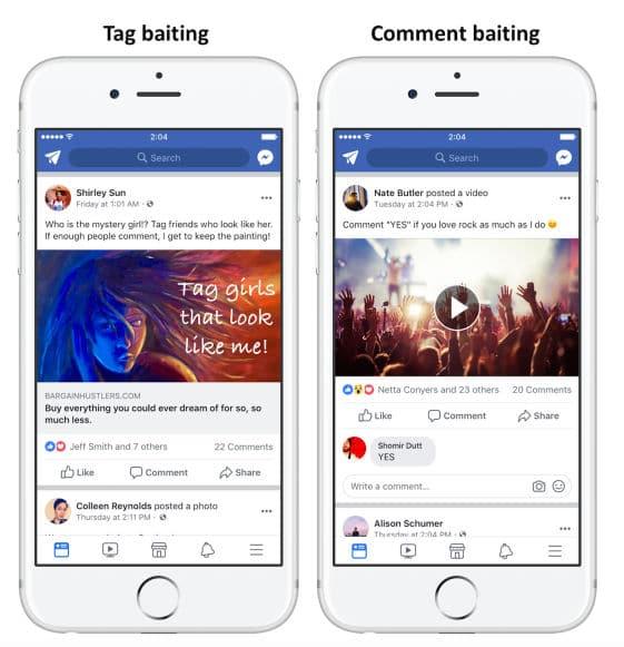 Facebook algoritmo hacer like compartir