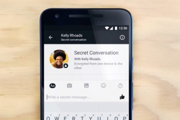 Facebook messenger secret