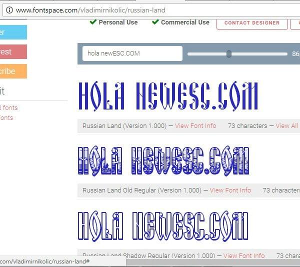 Fontspace descargar tipografías gartis