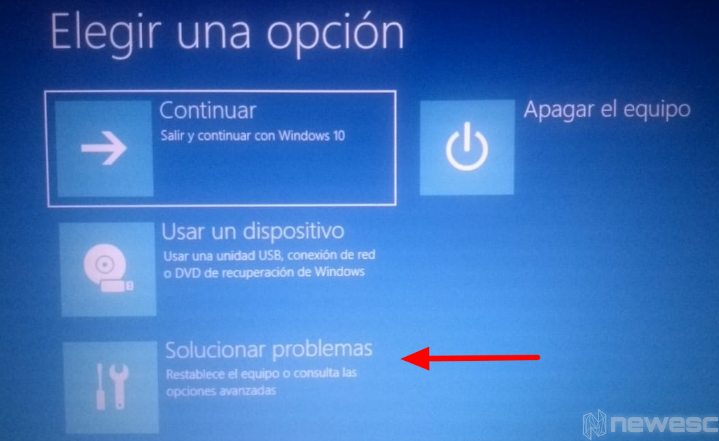 Formatear laptop Windows 10 con Menú Inicio1