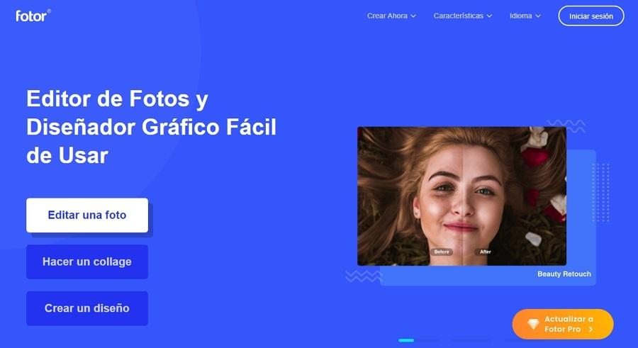 Fotor Editor de imágenes para PC
