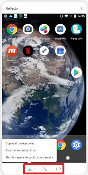 Funciones para ver la pantalla del móvil en la PC con ApowerManager