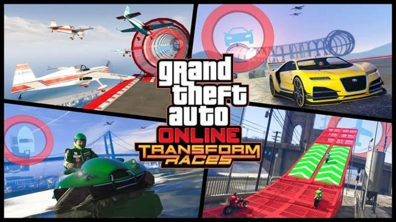 GTA Online Transform Race