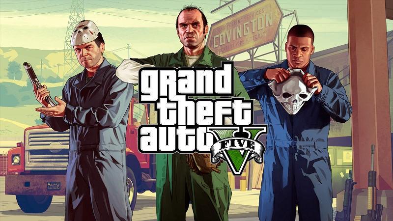 GTA V Historia
