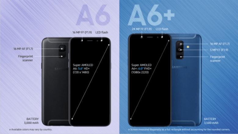 Galaxy A6 Galaxy A6 Plus