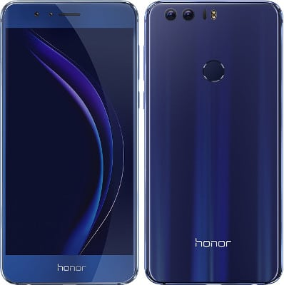 Gama Media honor 8 diseño