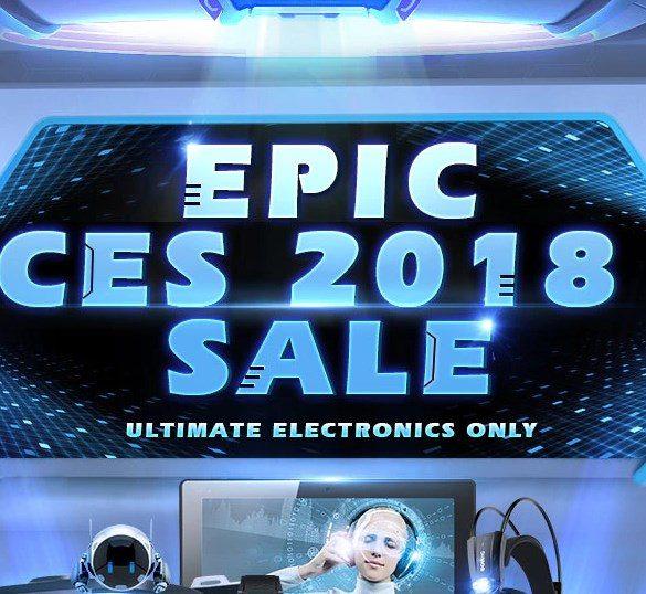 EPIC CES 2018 de Gearbest.