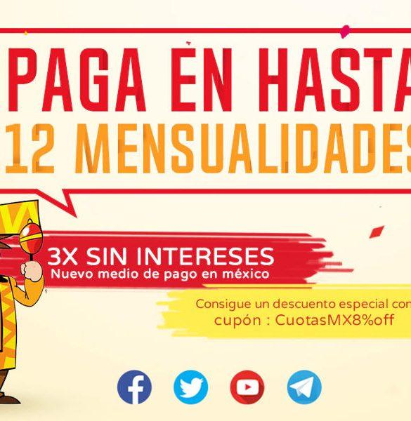 GearBest México formas de pago