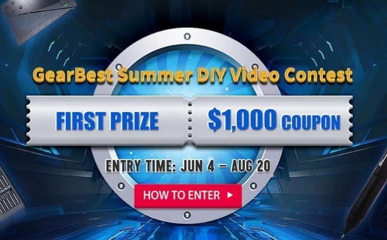 GearBest concurso de verano