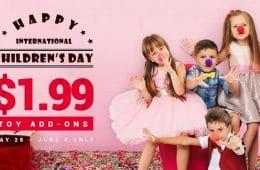 GearBest promoción Día del Niño