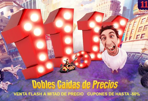 GearBest promociones 11-11