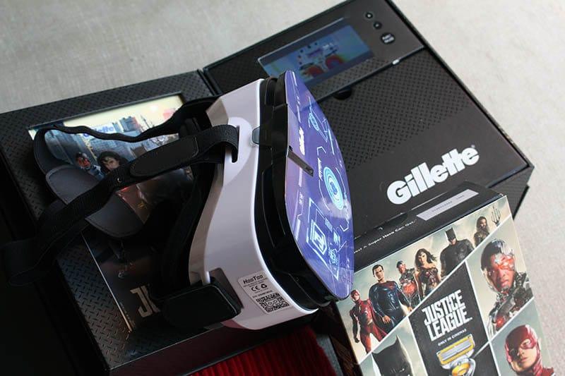 Gillette Liga de la Justicia NewEsc Gafas VR
