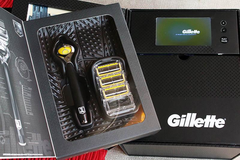 Gillette Liga de la Justicia NewEsc maquinilla abierta