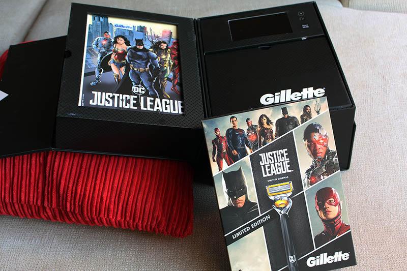 Gillette Liga de la Justicia NewEsc maquinilla