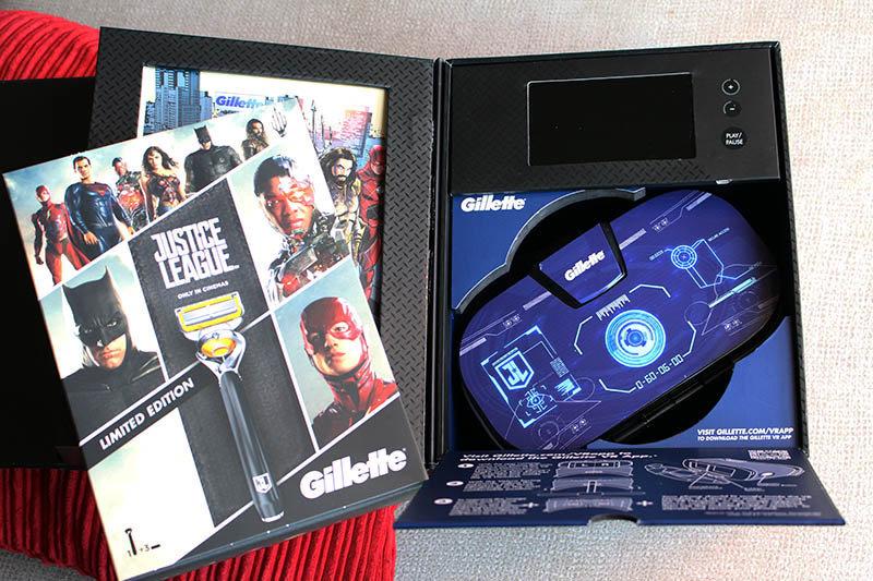 Gillette Liga de la Justicia NewEsc pack