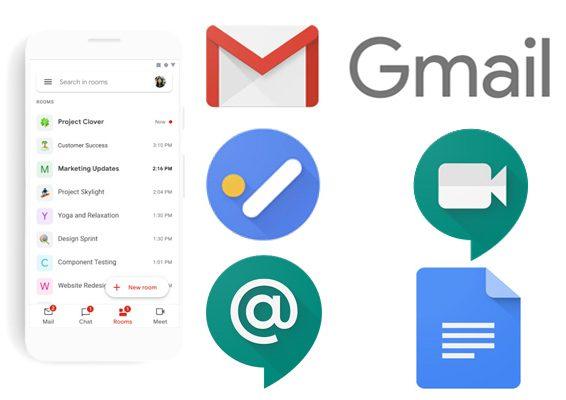 Gmail integra aplicaciones de google