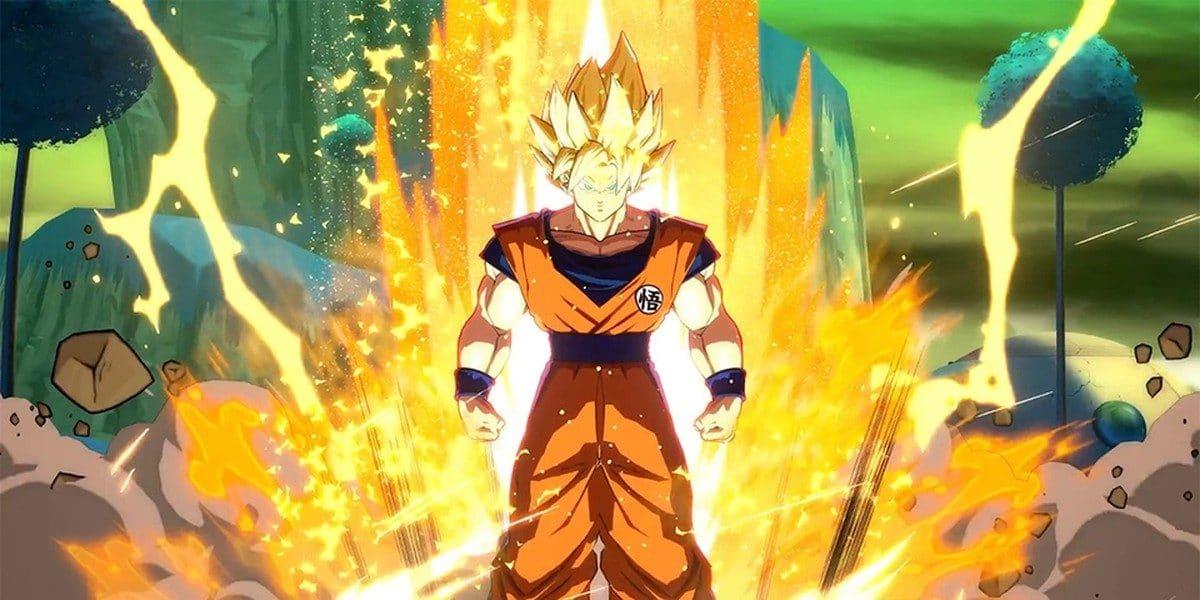 Goku SS en DB Fighterz