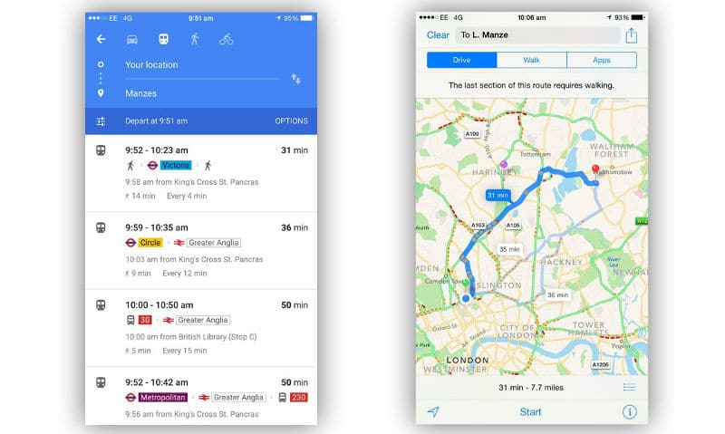 google-maps-vs-apple-maps