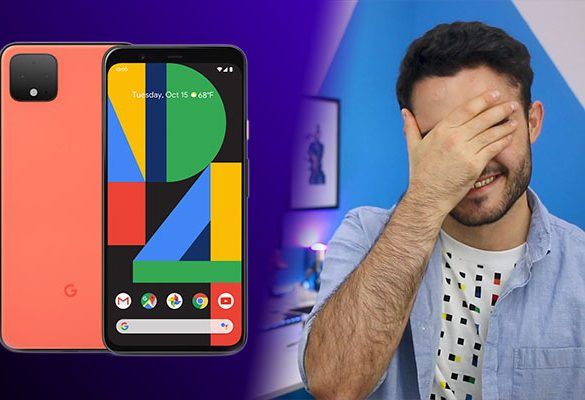 Google Sigue sin Aprender Pixel 4