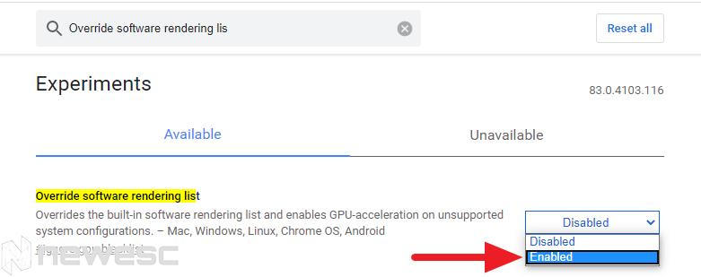 Google chrome rápido flags