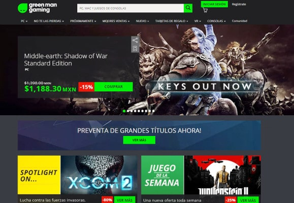 Juegos gratis Green Man Gaming