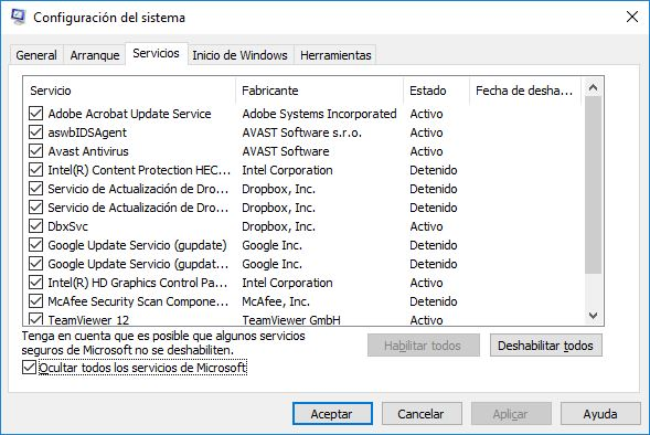Guia definitiva de como acelerar y optimizar windows 10 - 2.1