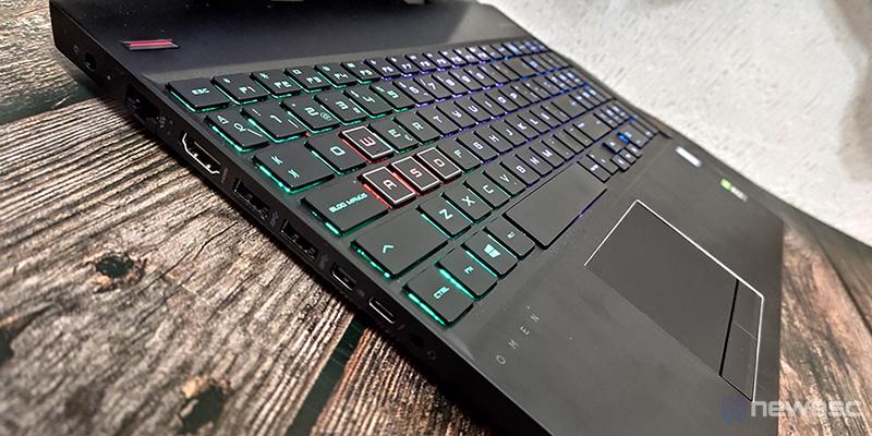 HP OMEN 15 dh teclado2