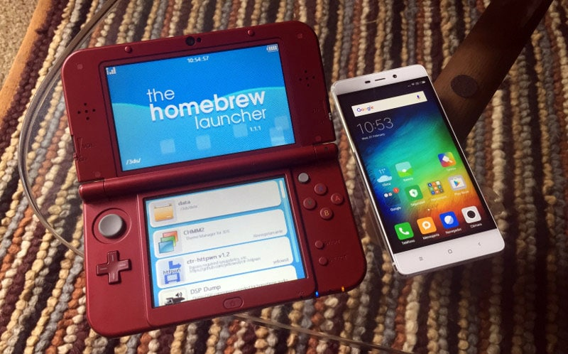 Hack nintendo 3ds + android