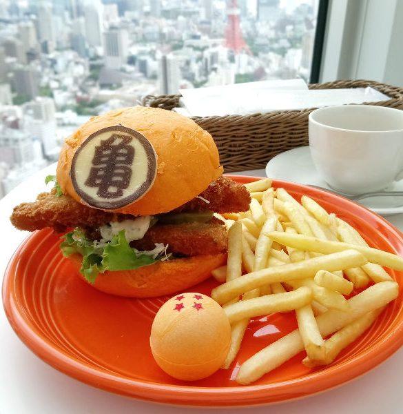 Hamburguesa Dragon Ball Japón