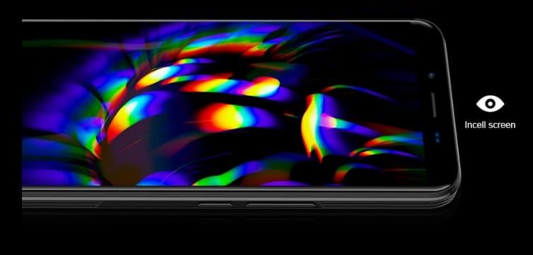 Homtom S99 pantalla