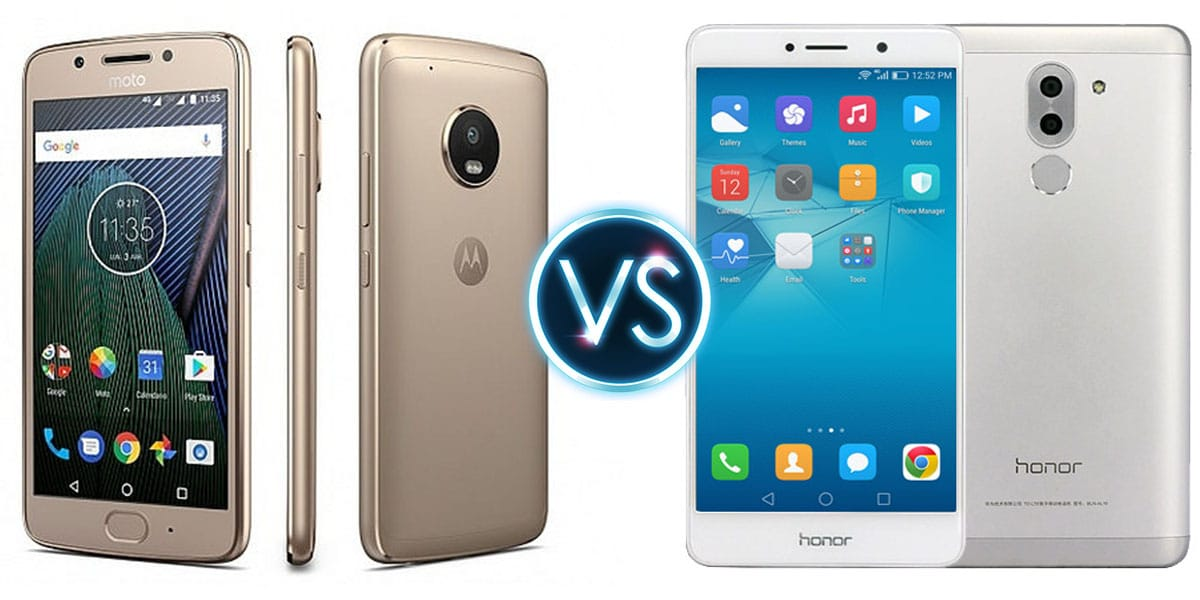 Honor 6X vs Moto G5 Plus