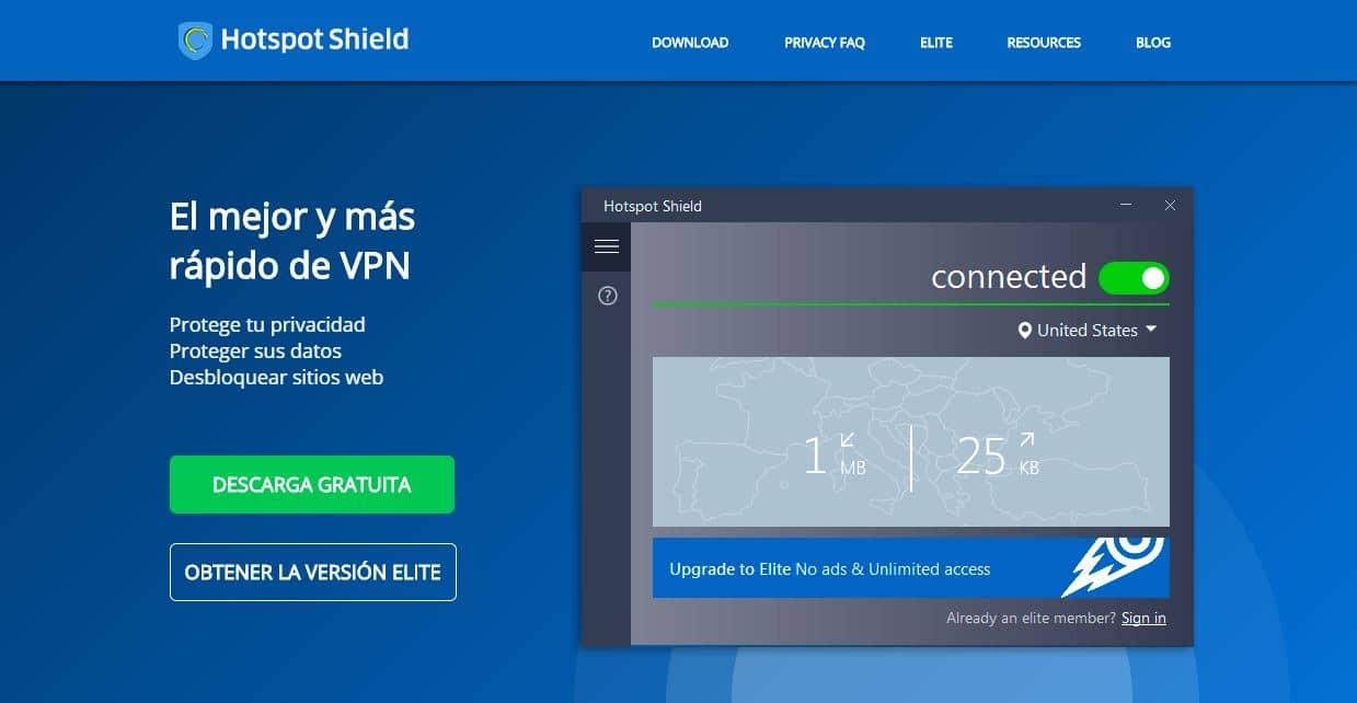 Hotspot Shield vpn gratis
