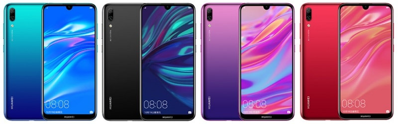 Huawei Enjoy 9 acabados