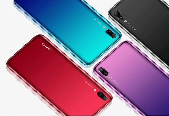 Huawei Enjoy 9 diseño conceptual