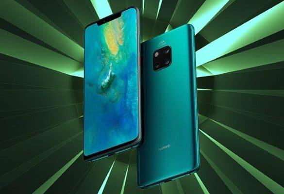 Huawei Mate 20 Pro diseño conceptual