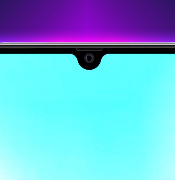 Huawei Mate 20 notch wallpaper