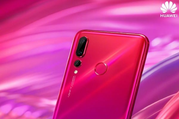 Huawei Nova 4 Honey Red