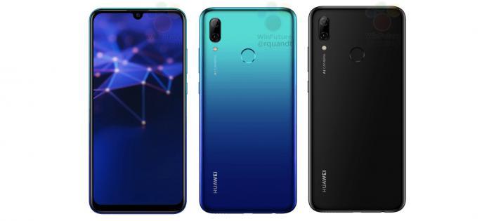 Huawei P Smart 2019 filtración