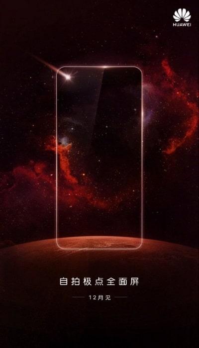 Huawei Teaser para diciembre