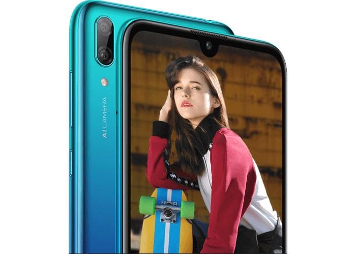 Huawei Y7 2019 cámaras