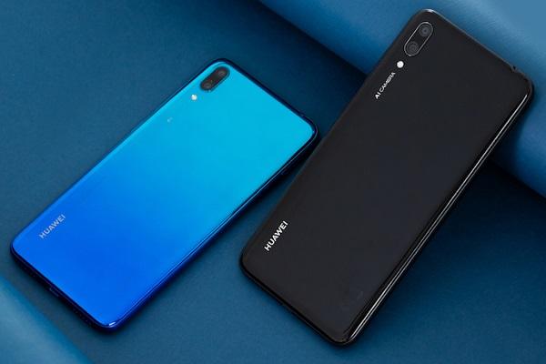 Huawei Y7 2019 diseño conceptual posterior