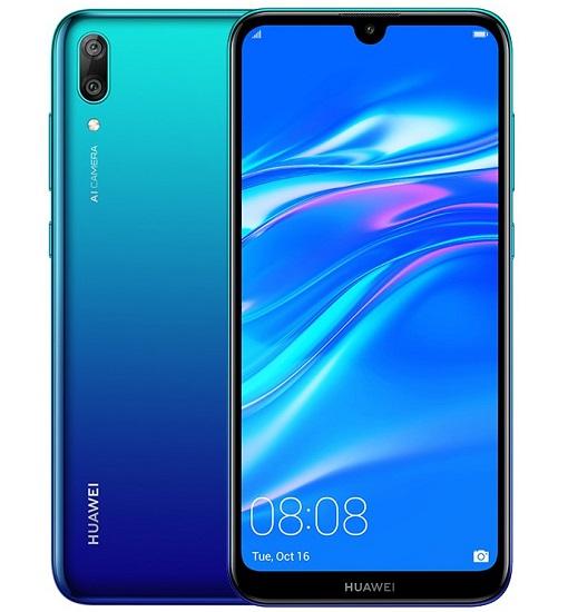 Huawei Y7 Pro 2019 diseño conceptual oficial