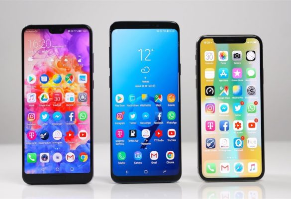 Huawei vs Samsung vs Apple