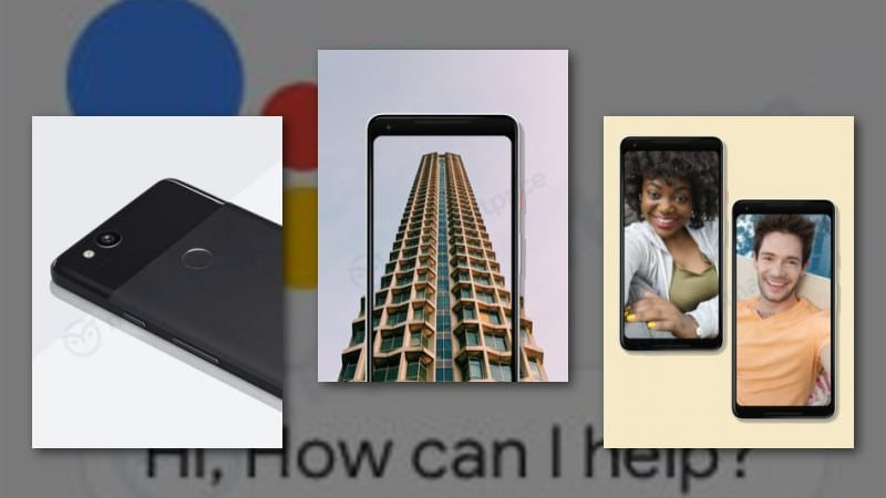 Imágenes promocionales del Google Pixel 3
