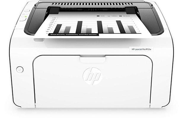 Impresora láser HP Laserjet Pro M12w
