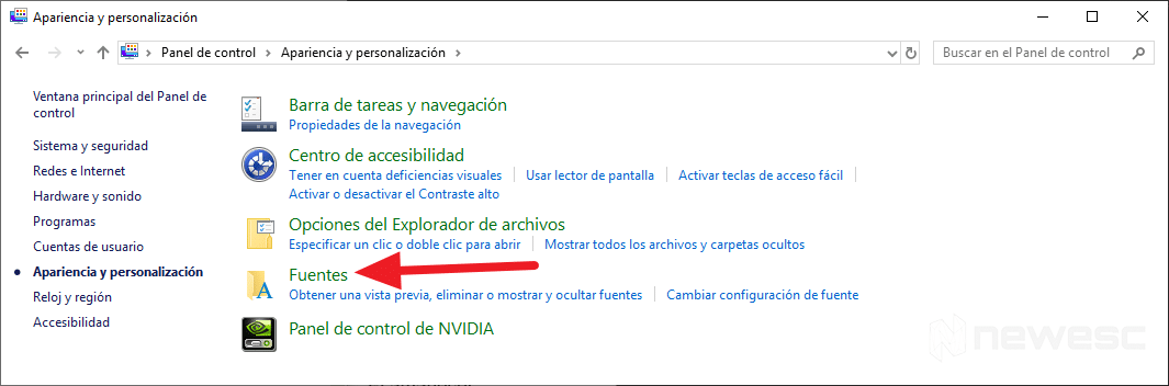 Instalar fuentes en Windows 10 - Arrastrar y soltar 2