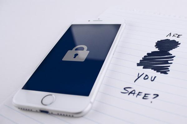 Iphone blanco con problemas de seguridad