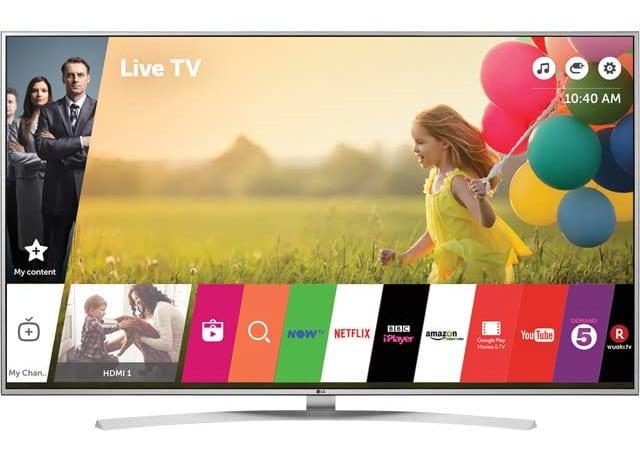 LG 49UH770V televisores baratos 4K